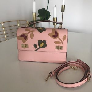 Pale pink Henri Bendel West 57th Schoolbag